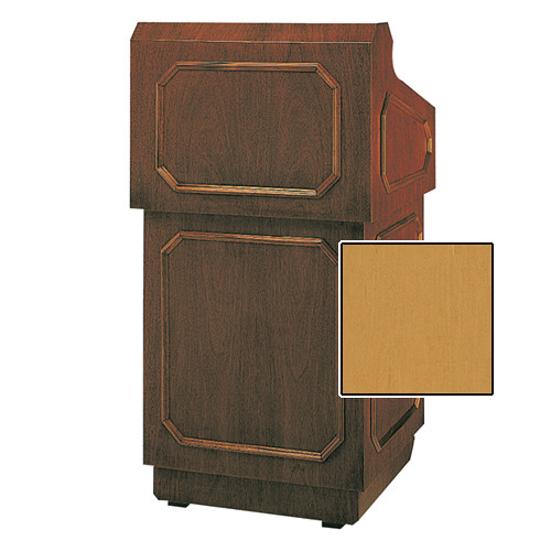 "Da-Lite Hamilton Special Needs Adjustable Floor Lectern (42"", Honey Maple Veneer, 220V)"
