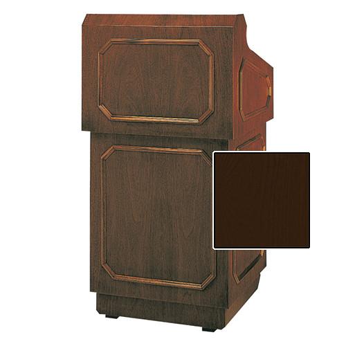 "Da-Lite Hamilton Special Needs Adjustable Floor Lectern (42"", Mahogany Veneer, 220V)"
