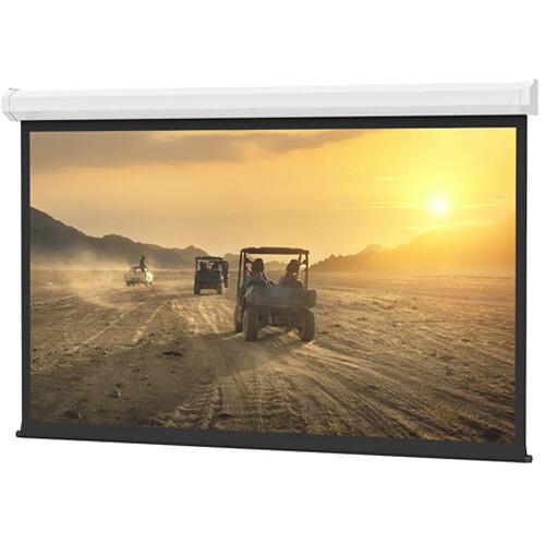 "Da-Lite 76738I 87 x 116"" Cosmopolitan Electrol Wall & Ceiling Screen (White Case)"