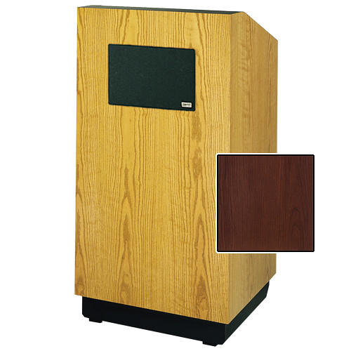 "Da-Lite Lexington 42"" Multi-Media Floor Lectern (Cherry Laminate)"