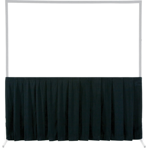 Da-Lite Skirt Drapery for HD and Truss Deluxe Projection Screen (10 x 17', Black)
