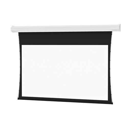 """Da-Lite Tensioned Cosmopolitan Electrol 58 x 104"""" 16:9 Screen with HD Progressive 1.1 Contrast Surface (White Case, 220V)"""