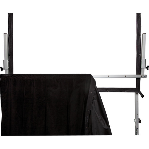 Da-Lite Adjustable Skirt Bar for the Heavy Duty Fast-Fold Deluxe Projection Screen (11 x 11')