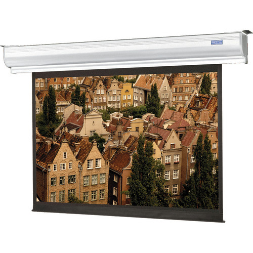 "Da-Lite 92624ELSVN Contour Electrol 84 x 84"" Motorized Screen (220V)"