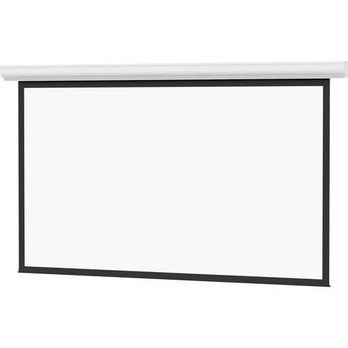 "Da-Lite Designer Contour Electrol 84 x 84"", 1:1 Screen with High Contrast Matte White Projection Surface (120V)"