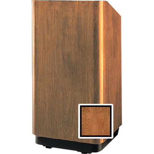 """Da-Lite 32"""" Concord Floor Lectern with Sound System and Height Adjustment"""