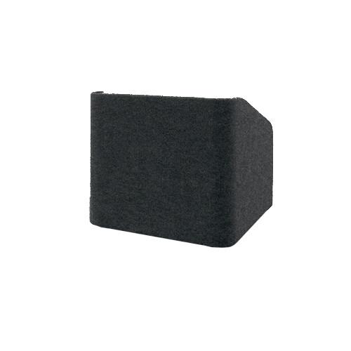 "Da-Lite Concord 25"" Carpeted Tabletop Lectern (Black)"
