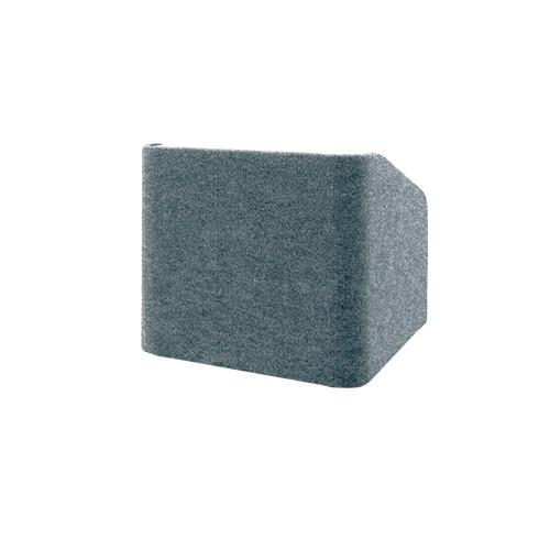 """Da-Lite Concord 25"""" Carpeted Tabletop Lectern (Gray)"""