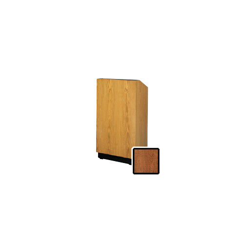 "Da-Lite Lexington 32"" Floor Lectern with Sound System and Height Adjustment (Cherry Laminate)"