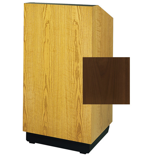 "Da-Lite Lexington 25"" Tabletop Lectern (Standard Natural Walnut Laminate)"