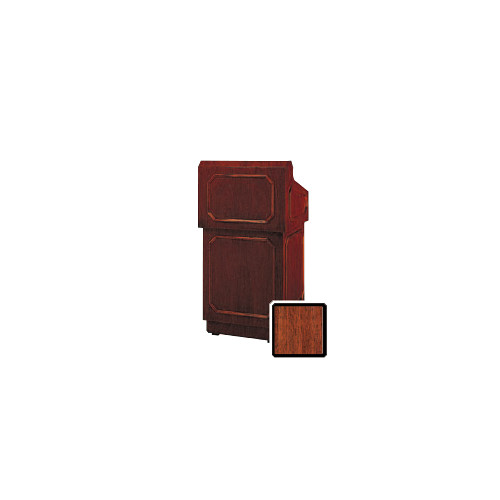 "Da-Lite Hamilton 25"" Tabletop Lectern with Sound System (Standard Mahogany Veneer)"