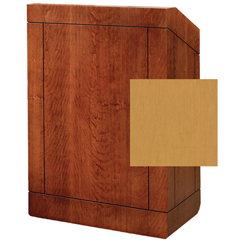 "Da-Lite Providence 25"" Stacking Lectern with Sound System (Standard Honey Maple Veneer)"