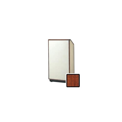 """Da-Lite Cambridge 25"""" Floor Lectern with Electric Height Adjustment (Standard Honey Maple Veneer)"""