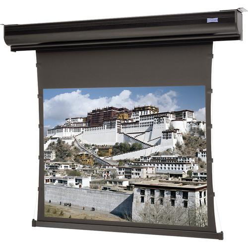 "Da-Lite DA88488LSHWV 60 x 80"" Tensioned Contour Electrol Wall/Ceiling Screen (Heritage Walnut Veneer Front)"