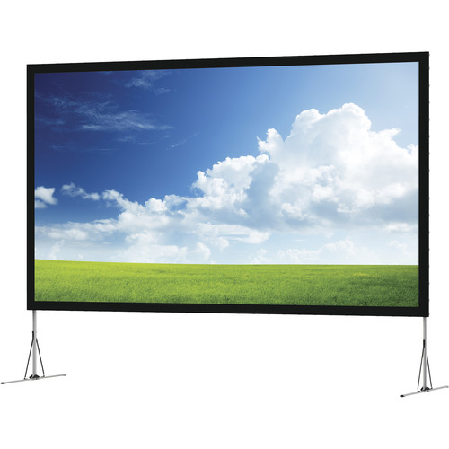 "Da-Lite NLCV198X318 Fast-Fold Large NXT 198 x 318"" Projection Screen"
