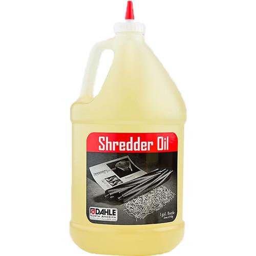 Dahle 20722 Shredder Oil (4-Pack, 1 Gallon Bottles)