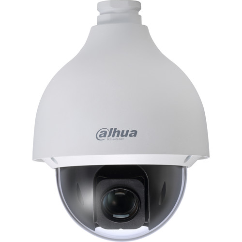 Dahua Technology Pro Series 50230UNI-A 2MP Vandal-Resistant PTZ Network Dome Camera with 4.5-135mm Varifocal Lens