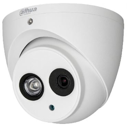 Dahua Technology Lite Series 2MP HDCVI Fixed Eyeball Camera with 3.6mm Fixed Focus Lens and Night Vision