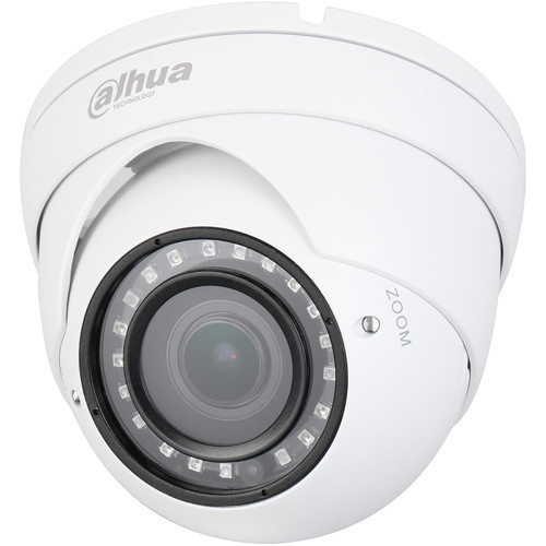 Dahua Technology Lite Series 2MP Outdoor HDCVI Eyeball Camera with Night Vision & 2.7-13.5mm Lens