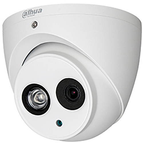 Dahua Technology A42AG23 Pro Series 4MP Outdoor HD-CVI Turret Camera with Night Vision and 3.6mm Lens