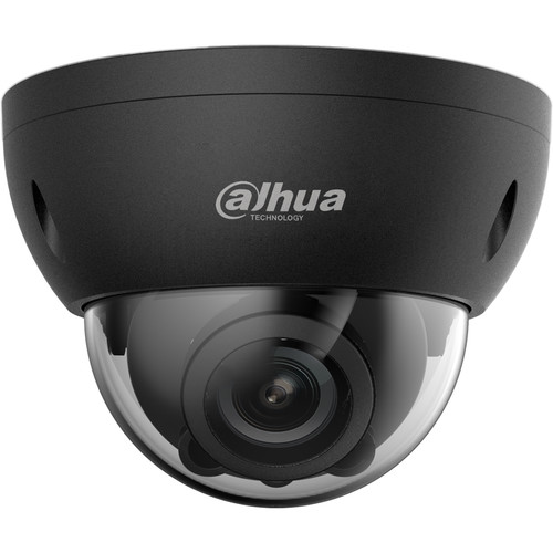 Dahua Technology Pro Series 4MP HD-CVI Outdoor Vandal-Resistant Dome Camera with Night Vision (Black)
