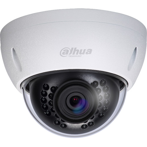 Dahua Technology Lite Series 2MP Outdoor Vandal-Resistant Dome Camera with 3.6mm Lens and Night Vision