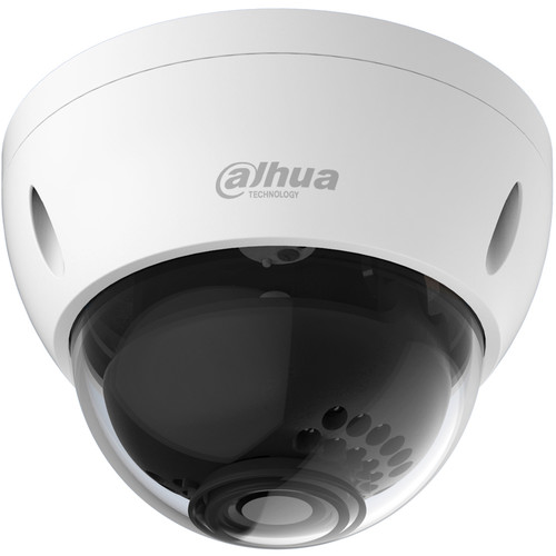 Dahua Technology DH-HAC-HDBW2120E 1.4MP 720p Vandal-proof IR HDCVI Mini Dome Camera with 3.6mm Fixed Focal Lens (NTSC)