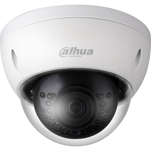 Dahua Technology Lite Series 1.3MP Outdoor Network Dome Camera with 3.6mm Lens and Night Vision