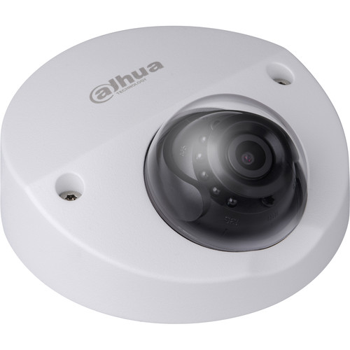 Dahua Technology Pro Series 2MP Outdoor Vandal-Resistant Network Mini Dome Camera with Night Vision & 6mm Fixed Lens