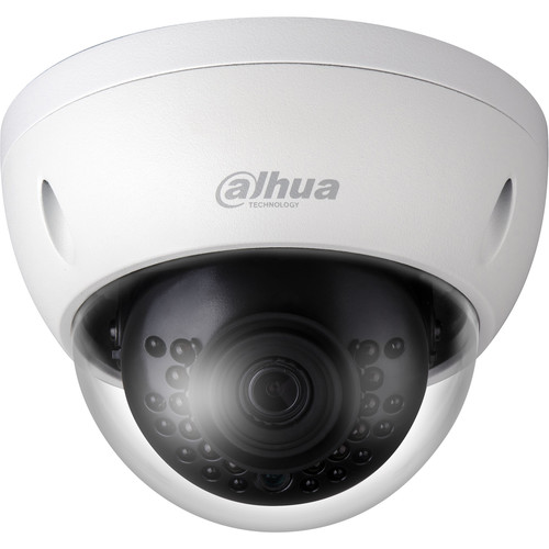 Dahua Technology Pro Series 4MP HD Network Vandal-Resistant IR Mini Dome Camera with 6mm Fixed Lens (Audio,Smart Dectection & SD Memory)