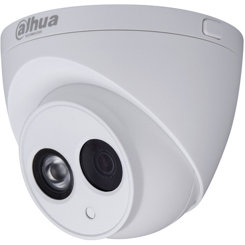 Dahua Technology Pro Series 4MP Outdoor Network Turret Camera with Night Vision, IVS, & 6mm Fixed Lens