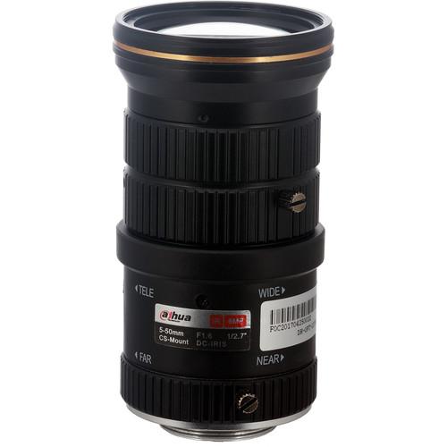 """Dahua Technology 1/2.7"""" 6MP CS-Mount 5-50mm DC-Iris IR Lens"""