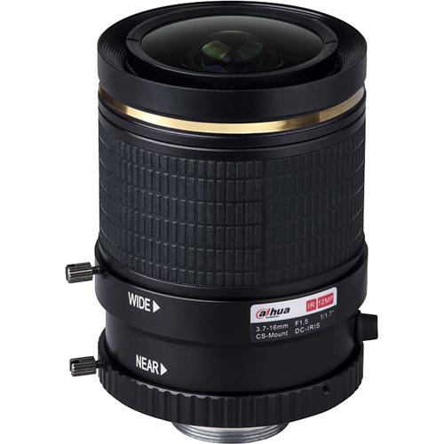 Dahua Technology 12MP 4K 3.7 to 16mm Varifocal Lens with CS-Mount