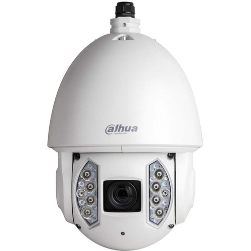 Dahua Technology Smart Series 2MP Full HD 30x WDR Star Light Outdoor Vandal-Resistant Network PTZ Dome Camera with Night Vision