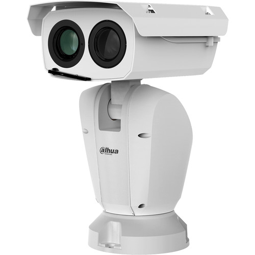 Dahua Technology DH-TPC-PT8420A-B Hybrid Thermal & Optical Outdoor PTZ Network Camera with 100mm Thermal Lens