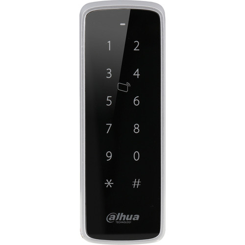 Dahua Technology Slim Waterproof RFID Wiegand 13.56 MHz Reader with Touch Keypad