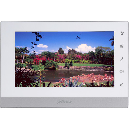 "Dahua Technology 7"" Color Indoor Touchscreen Video Intercom Monitor (2-Wire)"
