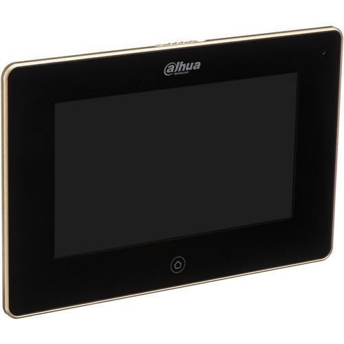 "Dahua Technology 7"" Wi-Fi Color Monitor Indoor Door Station (Black)"