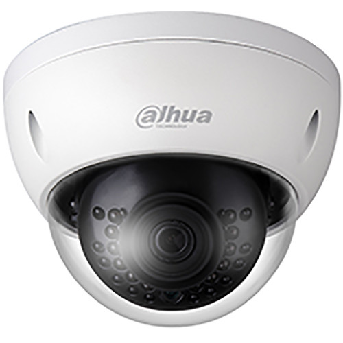 Dahua Technology Pro Series N44BL53 4MP Outdoor Network Dome Camera with Night Vision and 3.6mm Lens (White)