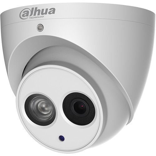 Dahua Technology Pro Series N44CG53 4MP Outdoor ePoE Network Turret Camera with 3.6mm Lens & Night Vision (Ivory)