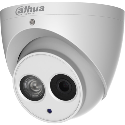 Dahua Technology Pro Series N84CG52 4K UHD Outdoor ePoE Network Turret Camera with 2.8mm Lens & Night Vision