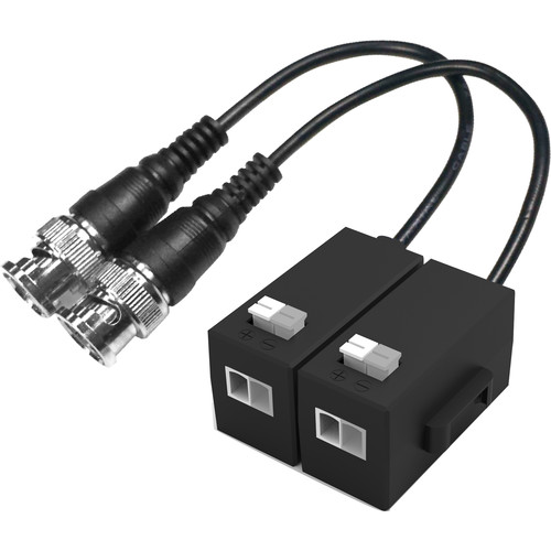 Dahua Technology 1-Channel Passive HDCVI Balun Converter (1080p, 820')