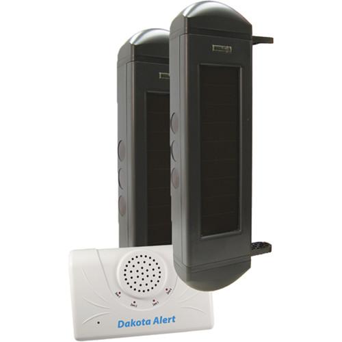 Dakota Alert BBA-2500 Solar Powered Wireless Infrared Break Beam System