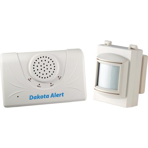 Dakota Alert Duty Cycle Wireless PIR Sensor and Receiver Kit