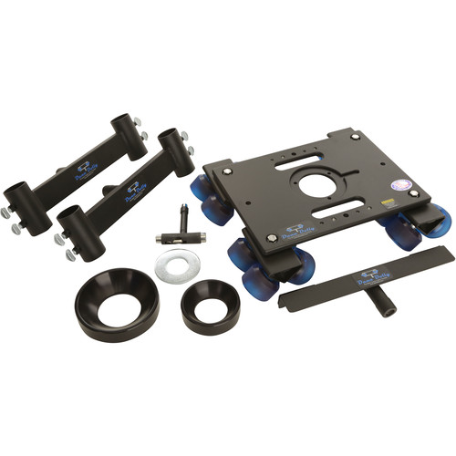 Dana Dolly Portable Dolly System with Original Track Ends, 100 & 150mm Bowl Adapters