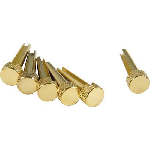 DANDREA TP1B - Tone Pins 6/Set (Solid Brass, Flat)