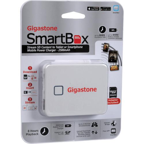 Dane-Elec Gigastone SmartBox A2 Wireless Portable Drive (White)