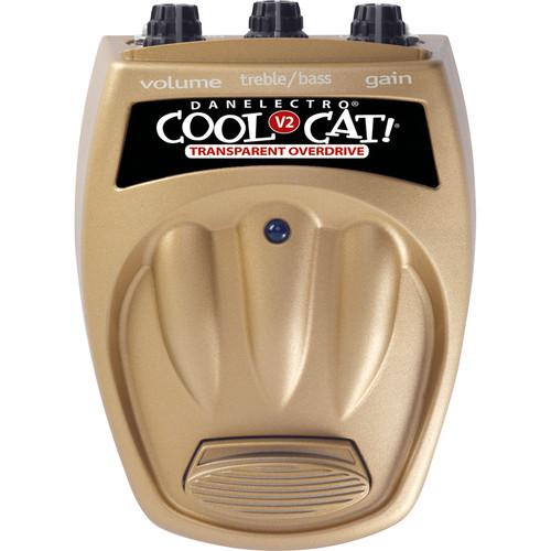 DANELECTRO CTO-2 Cool Cat Transparent Overdrive V2 Pedal
