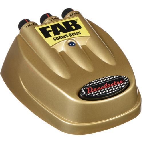 DANELECTRO Fab 600mS Delay Pedal