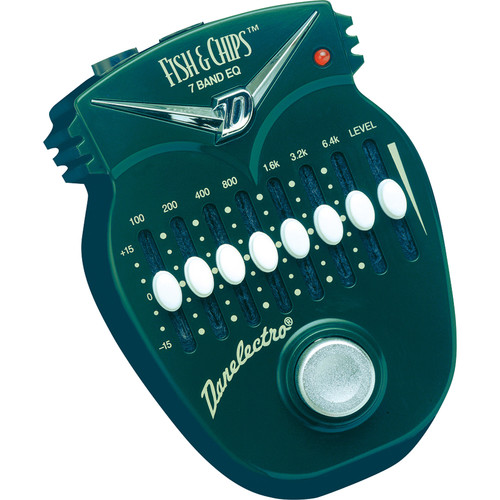 DANELECTRO Fish & Chips 7-Band Graphic EQ Pedal